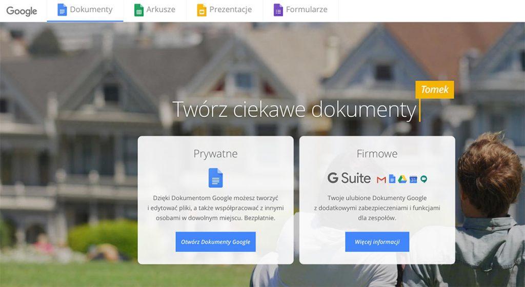 NUEKO - Google Docs - narzędzia do pracy zdalnej