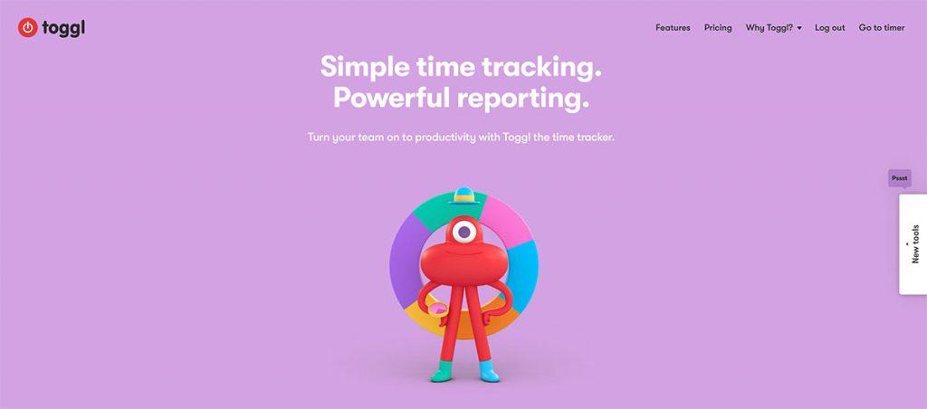 NUEKO - Toggl - mierzenie czasu pracy